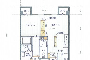 東山R_Plan01スケッチ